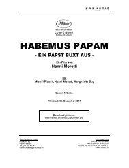 HABEMUS PAPAM - Frenetic