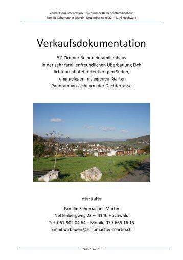 Verkaufsdokumentation - newhome.ch