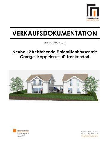 Verkaufsdokumentation_Baubeschrieb Kappelenstr. 4, Frenkendorf ...
