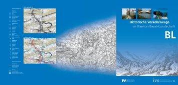Historische Verkehrswege im Kanton Basel-Landschaft BL