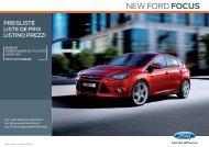NEW FORD FOCUS - Frenken-Garage AG
