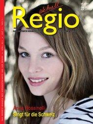 Anna Rossinelli Singt für die Schweiz - Regio aktuell