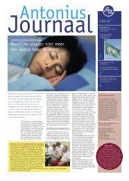 Antonius Journaal 2005-2/opening slaapcentrum - medsys