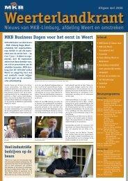 Nieuws van MKB-Limburg, afdeling Weert en omstreken
