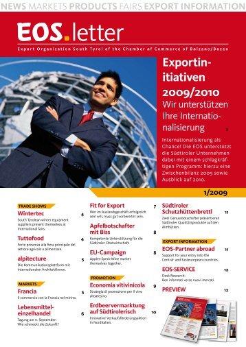 letter - Export Organization Südtirol