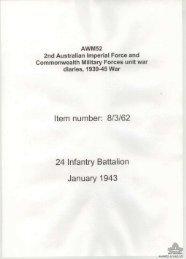 AWM52, 8/3/62/15 - Australian War Memorial