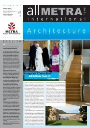 News International Architecture (Dec 2009) - Metra SpA