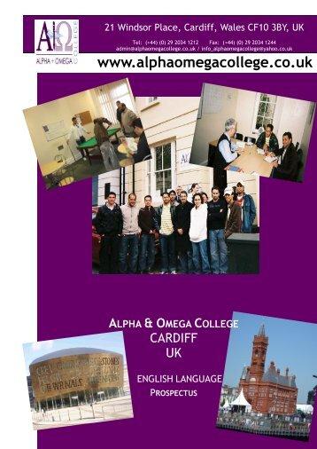 Tel: (+44) - Alpha and Omega College