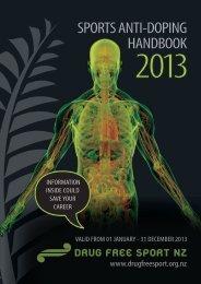 Download a PDF Version - Drug Free Sport NZ