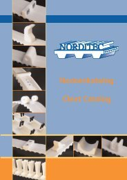 Nockenkatalog Cleat Catalog - Norditec Antriebstechnik GmbH