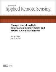 Comparison of skylight polarization measurements and MODTRAN-P