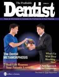 The Dental MeTaMorphosis - The Profitable Dentist