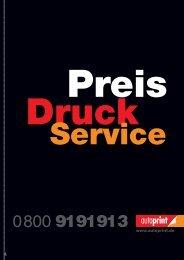 Preis-Druck-Service