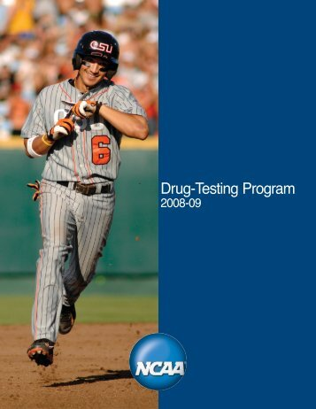 NCAA Drug Testing Program Booklet - LaGrange College