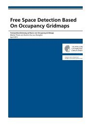 Free Space Detection Based On Occupancy Gridmaps - Intelligent ...