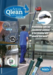 Professional, safe and considered solutions in the cleaning with ...