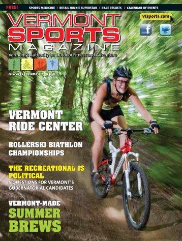 VS July FINAL.indd - Vermont Sports Magazine
