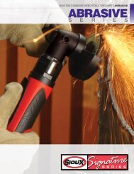 ABRASIVE - Sioux Tools