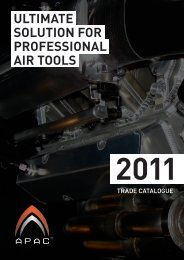 ULTIMATE SOLUTION FOR PROFESSIONAL AIR ... - APAC Tools