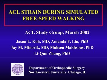 the PowerPoint presentation - ACL Study Group