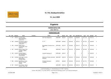 Crystal Reports - Ergebnis-T.rpt - STGK.de