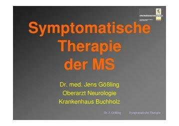 Symptomatische Therapie 2006 - Krankenhaus Buchholz