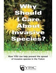 Why Should I Care About Invasive Species? - Yukon Invasive ...