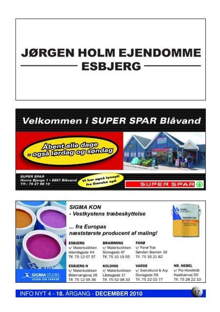 Info Nyt 4 2010 - Blåvandshuk Golfklub