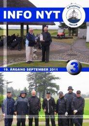Info Nyt 3 2011 - Blåvandshuk Golfklub