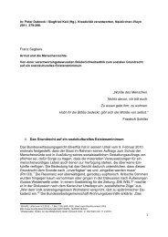In: Peter Dabrock / Siegfried Keil (Hg.) - Prof. Dr. Franz Segbers