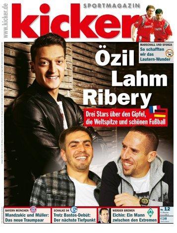 Özil Lahm Ribery