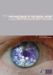 THE CHALLENGE OF THE DIGITAL DIVIDE - BiblioITE - Home