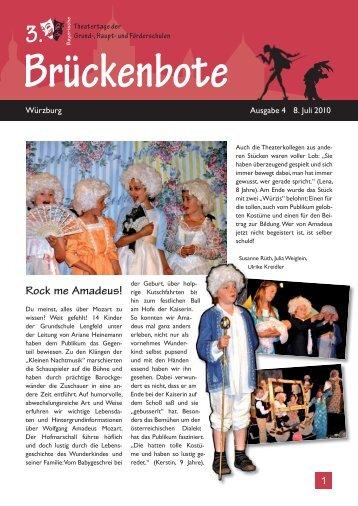 Brückenbote Ausgabe 4 - 9. Juli 2010 - Franz-Oberthür-Schule