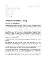 30.11.09 Interfraktioneller Antrag Räumliche Planung neue FOS
