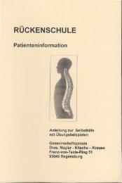 RÜCKENSCHULE - Gemeinschaftspraxis am Rennplatz