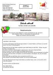 Schule aktuell - David Schuster Realschule