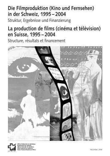 Die Filmproduktion (Kino und Fernsehen) - European Audiovisual ...