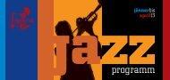 Unser Programm zum downloaden (pdf) - im Jazzclub Life Salzburg!