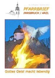 Ausgabe Nr2 2011 - Pfarrgemeinde Innsbruck Arzl