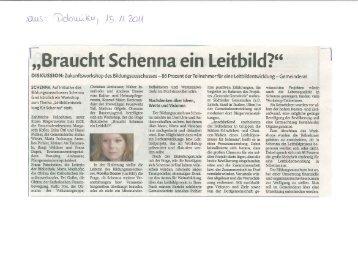 SCHENNA. Auf Initiative des Bildungsausschusses Schenna fand ...
