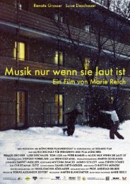 Regie und Buch: Marie Reich - Münchner Filmwerkstatt eV