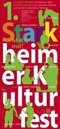 1. Starkheimer Kulturfest