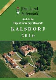 Prüfbericht 2010 - LFS Hatzendorf