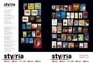 Herbstprogramm 2011 - Styria