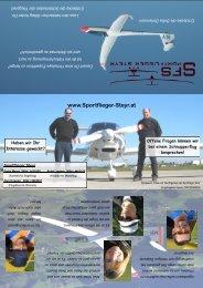 Folder - Sportflieger Steyr