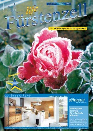 Fürstenzell life Februar 2010 - Fuerstenzell.de