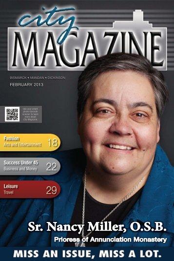 Sr. Nancy Miller, O.S.B. - City Magazine