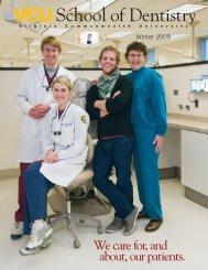 Winter 2009 - VCU School of Dentistry - Virginia Commonwealth ...