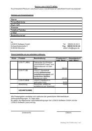 Bestellformular Einzelplatzlizenz - Logics Software