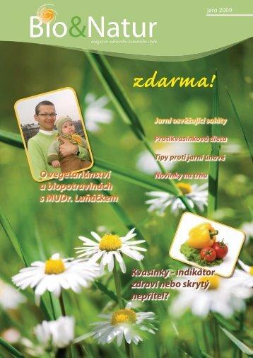 B&N jaro 2009 - bionatur.cz